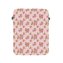 Beautiful hand drawn flowers pattern Apple iPad 2/3/4 Protective Soft Cases