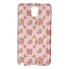 Beautiful hand drawn flowers pattern Samsung Galaxy Note 3 N9005 Hardshell Case