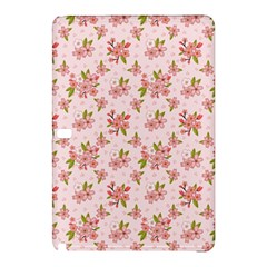 Beautiful hand drawn flowers pattern Samsung Galaxy Tab Pro 12.2 Hardshell Case