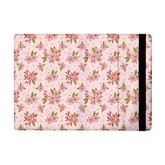 Beautiful hand drawn flowers pattern iPad Mini 2 Flip Cases