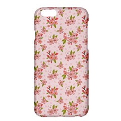 Beautiful hand drawn flowers pattern Apple iPhone 6 Plus/6S Plus Hardshell Case