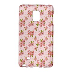 Beautiful hand drawn flowers pattern Galaxy Note Edge