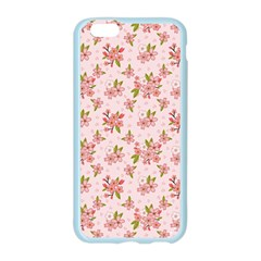 Beautiful hand drawn flowers pattern Apple Seamless iPhone 6/6S Case (Color)