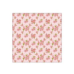 Beautiful hand drawn flowers pattern Satin Bandana Scarf