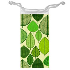 Leaves pattern design Jewelry Bag
