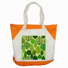 Leaves pattern design Accent Tote Bag