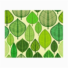 Leaves pattern design Small Glasses Cloth (2-Side)