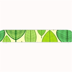 Leaves pattern design Small Bar Mats