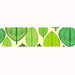 Leaves pattern design Large Bar Mats