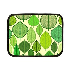 Leaves pattern design Netbook Case (Small)