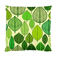Leaves pattern design Standard Cushion Case (Two Sides)