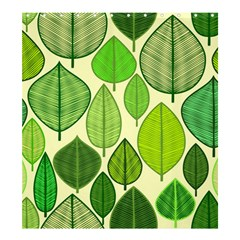 Leaves pattern design Shower Curtain 66  x 72  (Large)