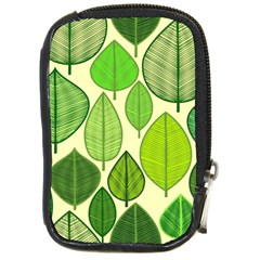 Leaves pattern design Compact Camera Cases