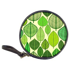 Leaves pattern design Classic 20-CD Wallets