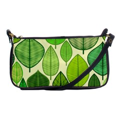 Leaves pattern design Shoulder Clutch Bags