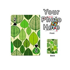 Leaves pattern design Playing Cards 54 (Mini)