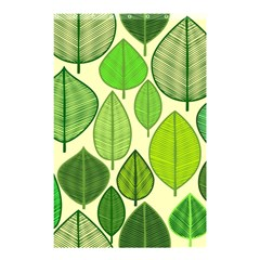 Leaves pattern design Shower Curtain 48  x 72  (Small)