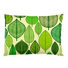 Leaves pattern design Pillow Case (Two Sides)