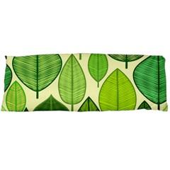 Leaves pattern design Body Pillow Case (Dakimakura)