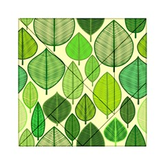 Leaves pattern design Acrylic Tangram Puzzle (6  x 6 )