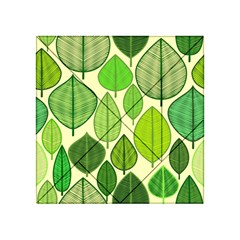 Leaves pattern design Acrylic Tangram Puzzle (4  x 4 )