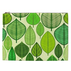 Leaves pattern design Cosmetic Bag (XXL)