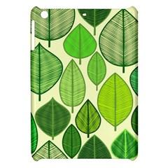 Leaves pattern design Apple iPad Mini Hardshell Case