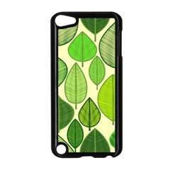 Leaves pattern design Apple iPod Touch 5 Case (Black)