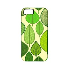 Leaves pattern design Apple iPhone 5 Classic Hardshell Case (PC+Silicone)