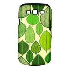 Leaves pattern design Samsung Galaxy S III Classic Hardshell Case (PC+Silicone)