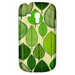 Leaves pattern design Galaxy S3 Mini
