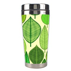Leaves pattern design Stainless Steel Travel Tumblers