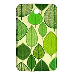 Leaves pattern design Samsung Galaxy Tab 3 (7 ) P3200 Hardshell Case