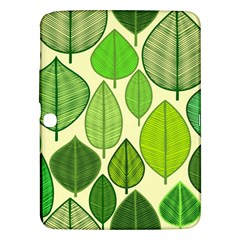 Leaves pattern design Samsung Galaxy Tab 3 (10.1 ) P5200 Hardshell Case