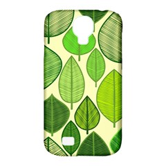 Leaves pattern design Samsung Galaxy S4 Classic Hardshell Case (PC+Silicone)