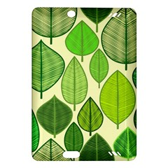 Leaves pattern design Amazon Kindle Fire HD (2013) Hardshell Case