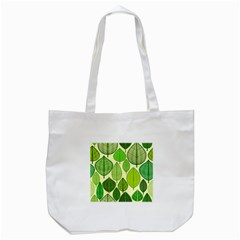 Leaves pattern design Tote Bag (White)