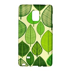 Leaves pattern design Galaxy Note Edge
