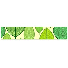 Leaves pattern design Flano Scarf (Large)