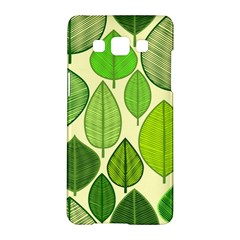 Leaves pattern design Samsung Galaxy A5 Hardshell Case