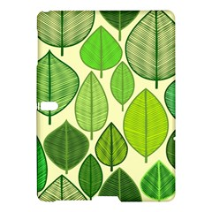 Leaves pattern design Samsung Galaxy Tab S (10.5 ) Hardshell Case