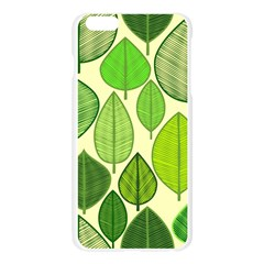 Leaves pattern design Apple Seamless iPhone 6 Plus/6S Plus Case (Transparent)