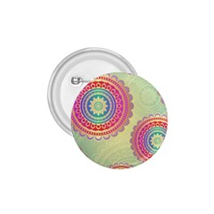 Abstract Geometric Wheels Pattern 1.75  Buttons