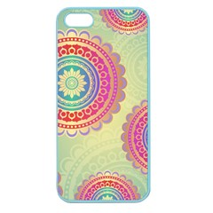 Abstract Geometric Wheels Pattern Apple Seamless iPhone 5 Case (Color)