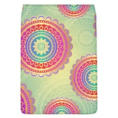 Abstract Geometric Wheels Pattern Flap Covers (L)
