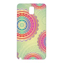 Abstract Geometric Wheels Pattern Samsung Galaxy Note 3 N9005 Hardshell Back Case