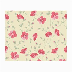 Seamless Flower Pattern Small Glasses Cloth (2-Side)
