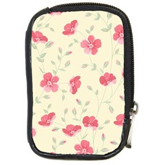 Seamless Flower Pattern Compact Camera Cases