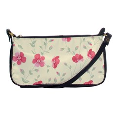 Seamless Flower Pattern Shoulder Clutch Bags