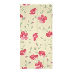 Seamless Flower Pattern Shower Curtain 36  x 72  (Stall)